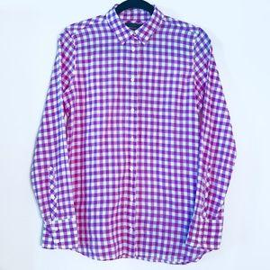 J. Crew   Classic Boy Shirt in Crinkle Gingham